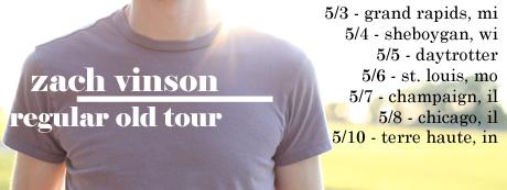 Zach Vinson regular old tour